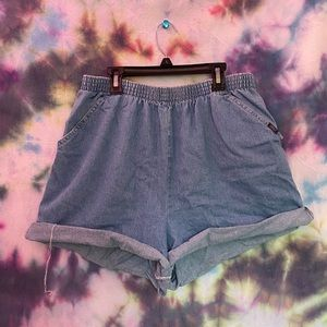 Vintage 90s Chic High Waisted Shorts